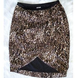 Worthington  Sexy simple Cheetah Skirt